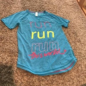 Ivivva athletic shirt! Kid's lululemon